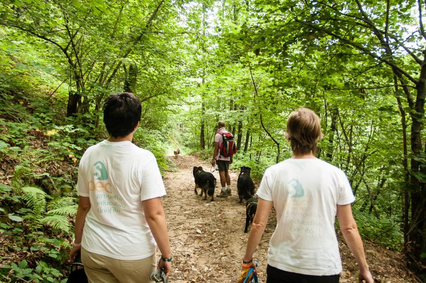 PEC al dog trekking educativo 2012 Montaldo di Mondovì