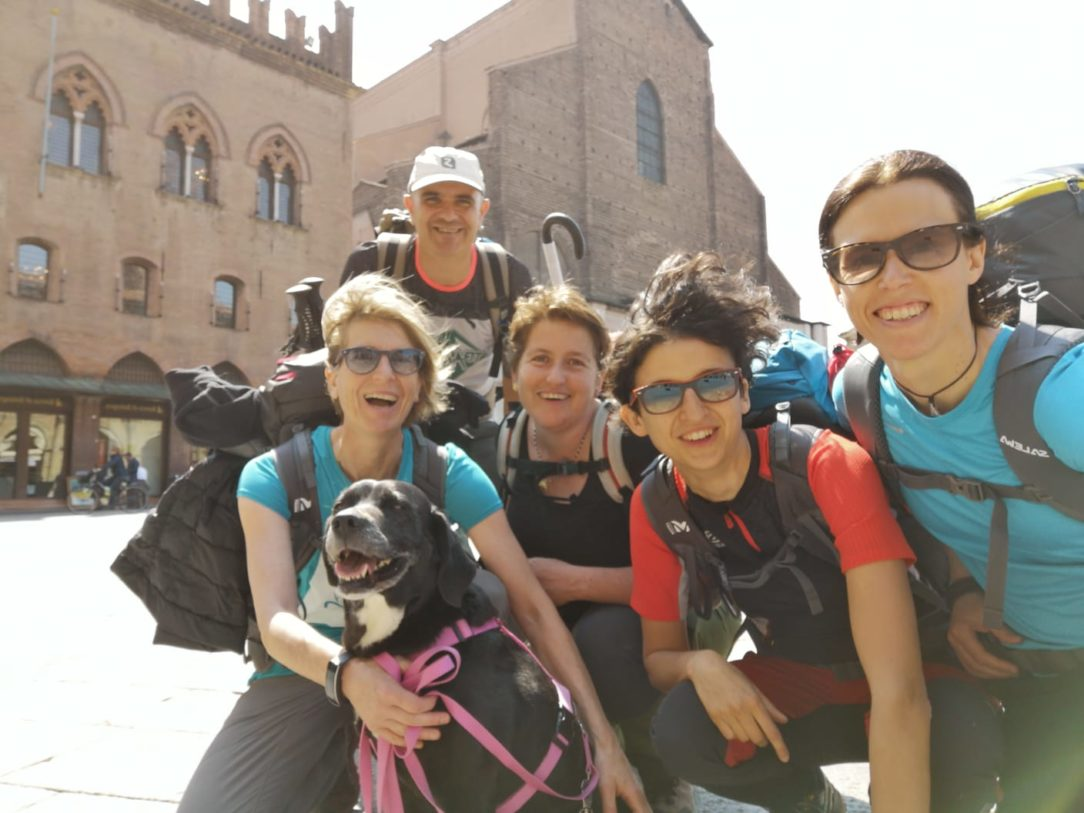 Via degli Dei con il cane - Bologna Firenze cammino con cani