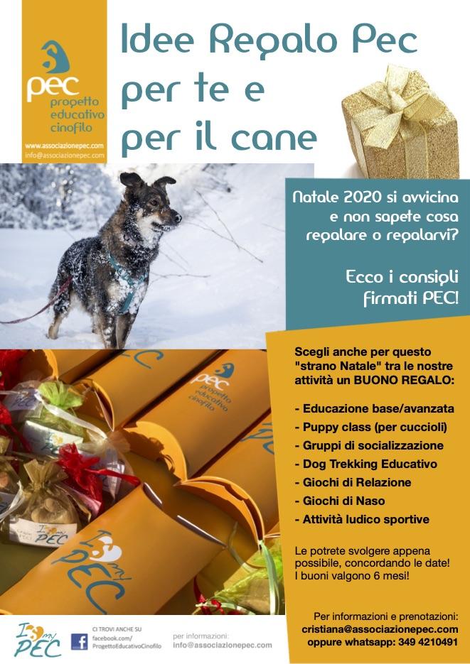 Idee regalo PEC per te e per il cane